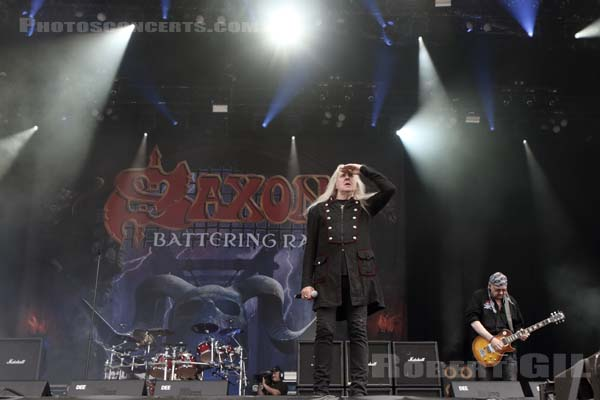 SAXON - 2016-06-11 - PARIS - Hippodrome de Longchamp - Main Stage