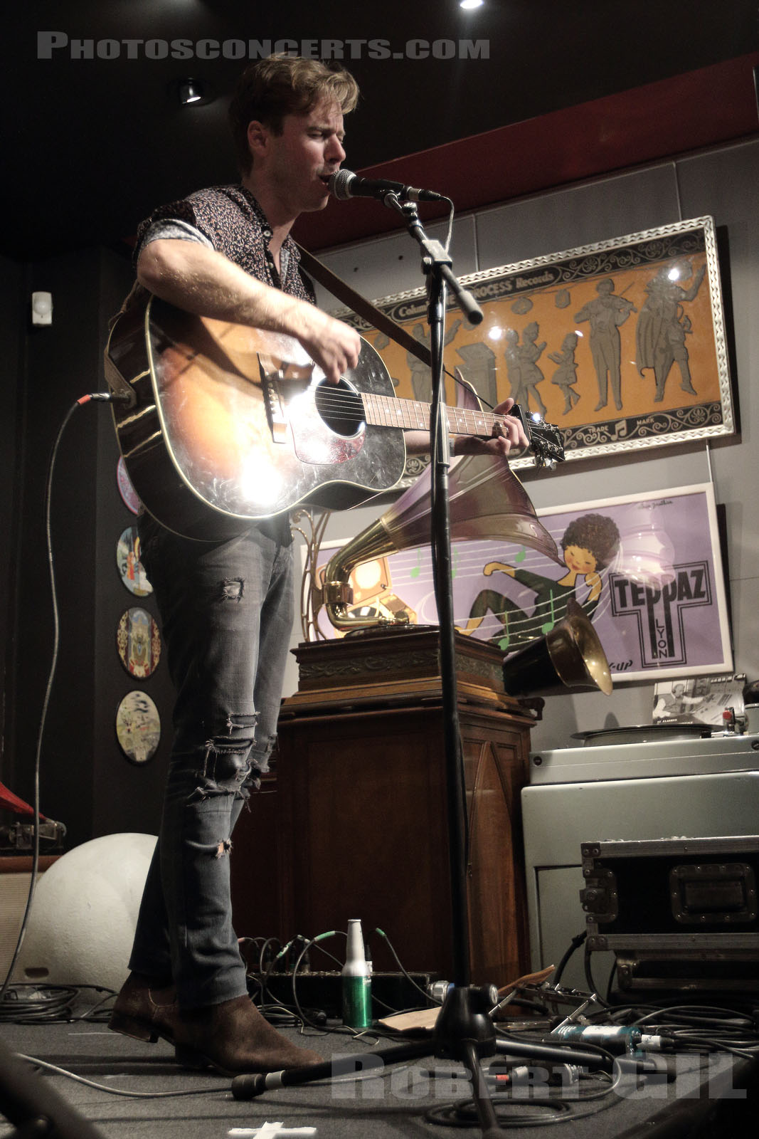 SEAN RILEY - 2018-10-17 - PARIS - Phono Museum