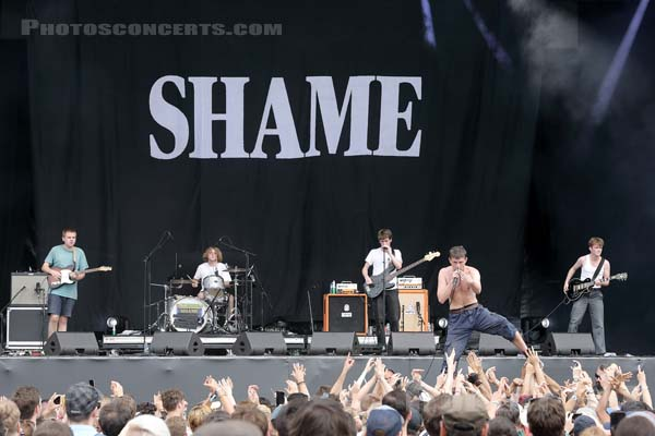 SHAME - 2019-07-21 - PARIS - Hippodrome de Longchamp - Alternative Stage