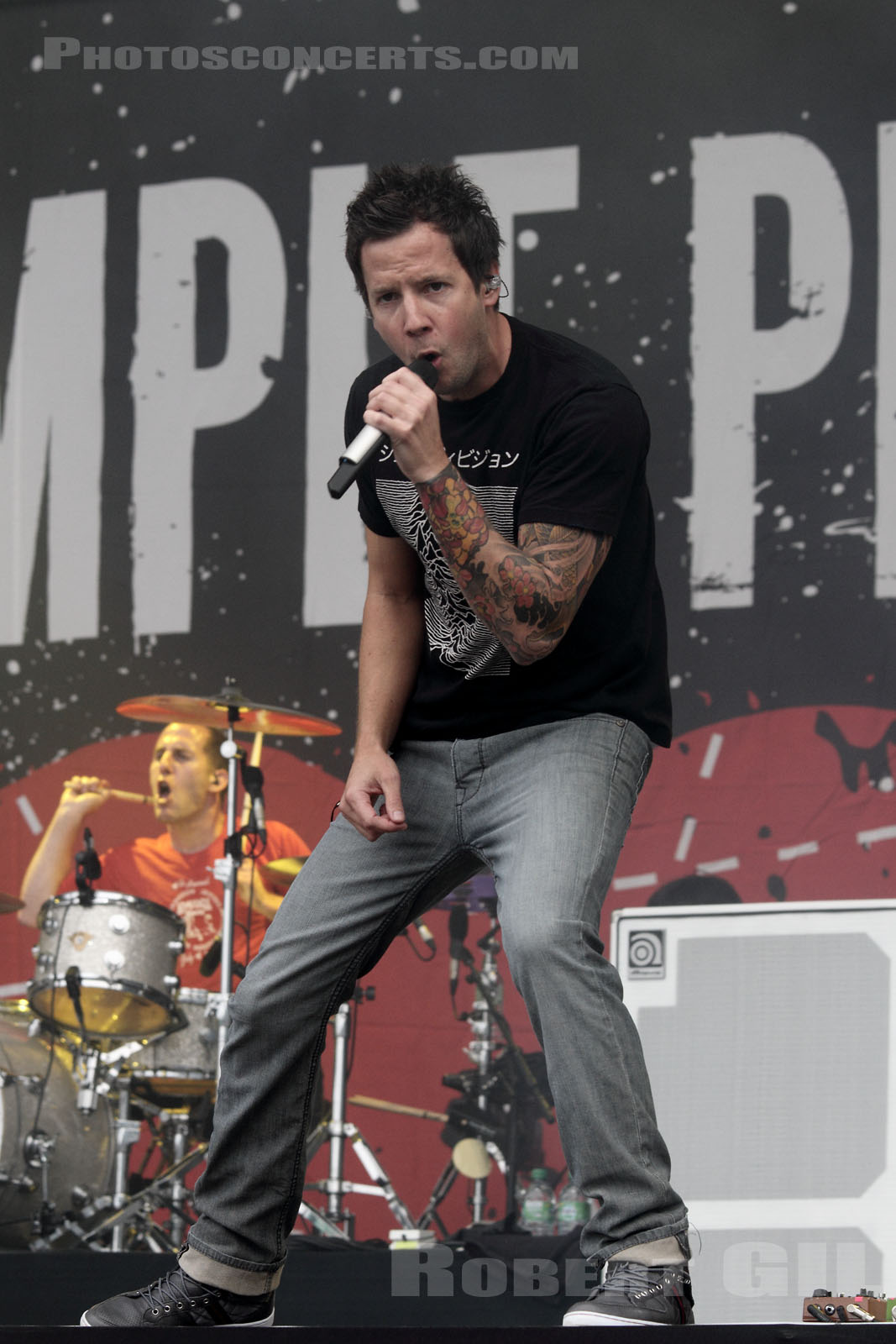 SIMPLE PLAN - 2011-08-28 - SAINT CLOUD - Domaine National - Grande Scene