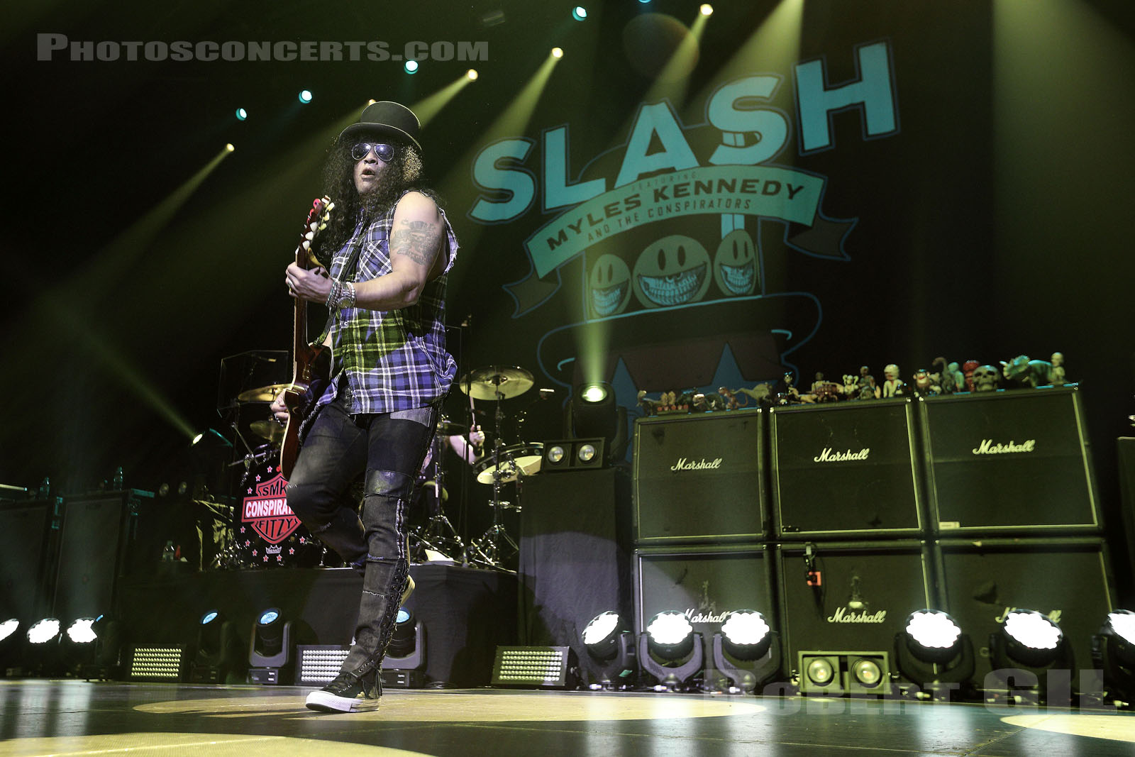 SLASH - MYLES KENNEDY AND THE CONSPIRATORS - 2019-02-22 - PARIS - Zenith