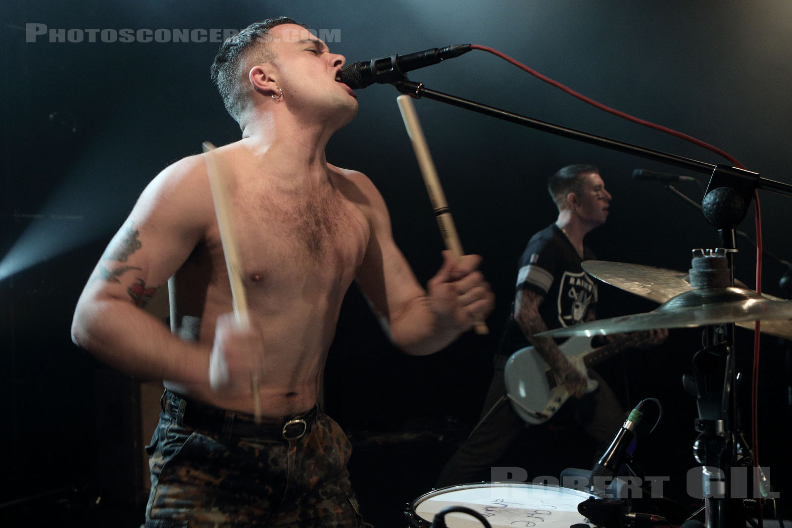 SLAVES - 2016-11-02 - PARIS - Trabendo