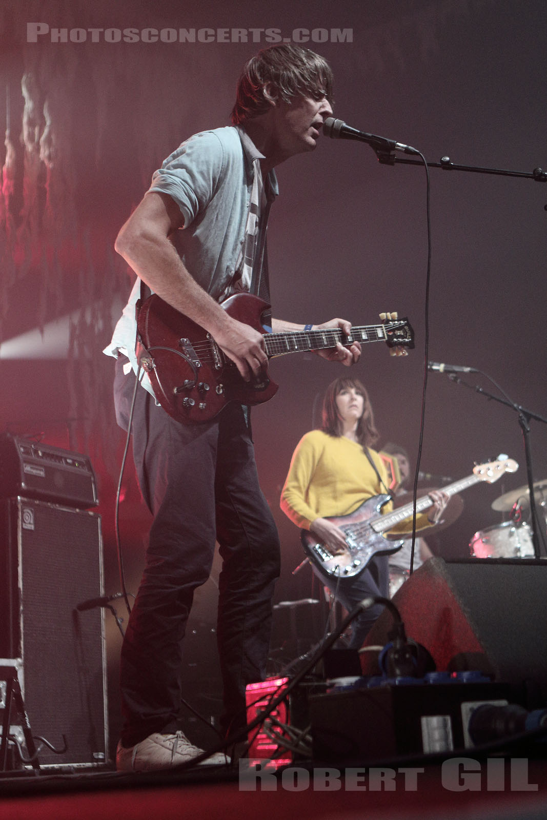 STEPHEN MALKMUS AND THE JICKS - 2018-11-03 - PARIS - Grande Halle de La Villette