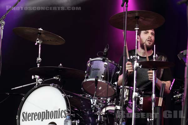 STEREOPHONICS - 2015-08-29 - SAINT CLOUD - Domaine National - Grande Scene
