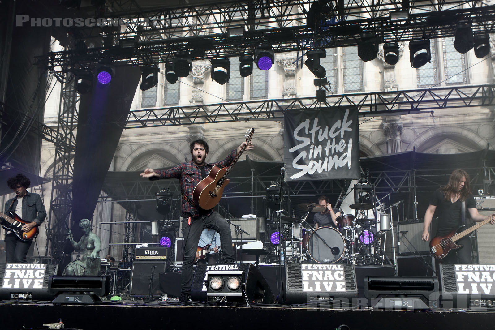 STUCK IN THE SOUND - 2016-07-22 - PARIS - Parvis de l'Hotel de Ville