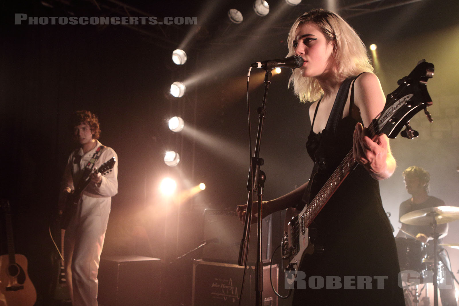 SUNFLOWER BEAN - 2018-04-09 - PARIS - Point Ephemere