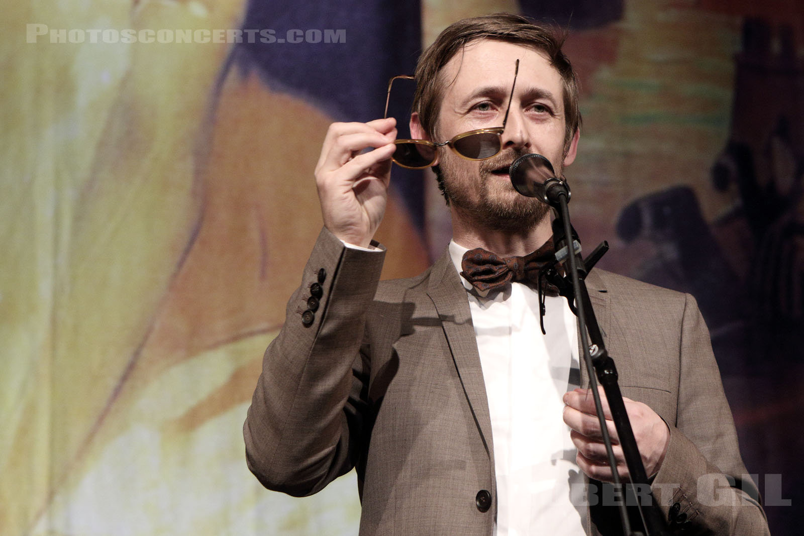 THE DIVINE COMEDY - 2016-04-15 - PARIS - Gaite Lyrique