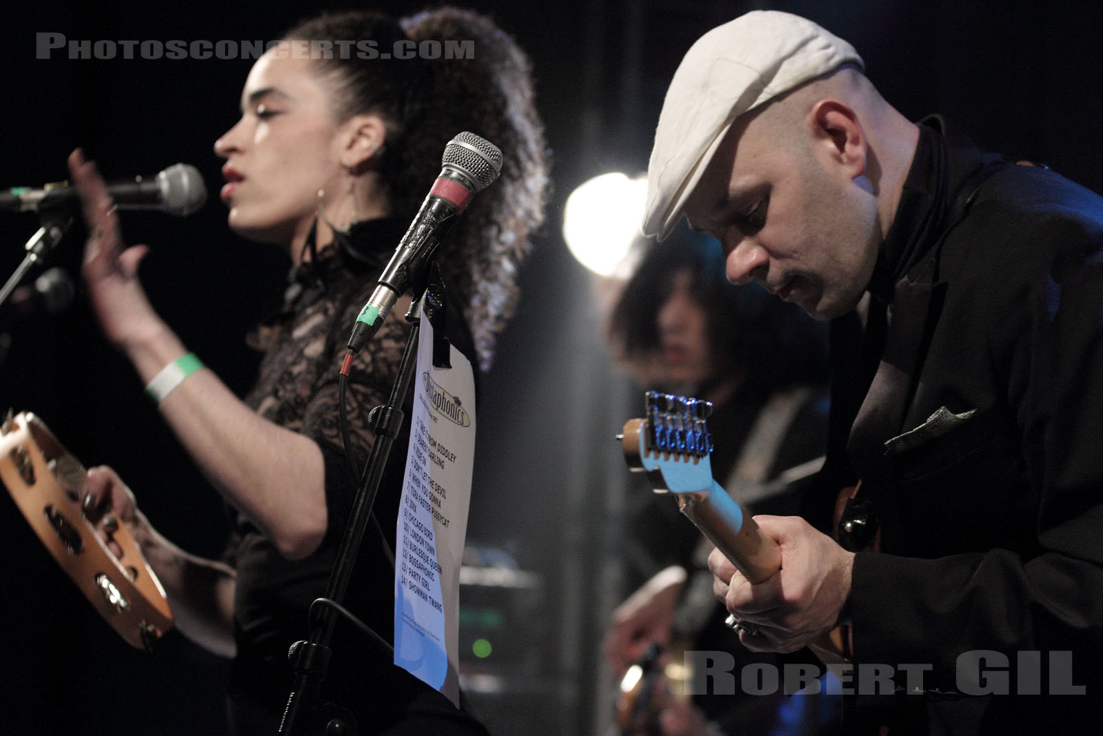 THE DUSTAPHONICS - 2012-04-04 - PARIS - La Fleche d'Or