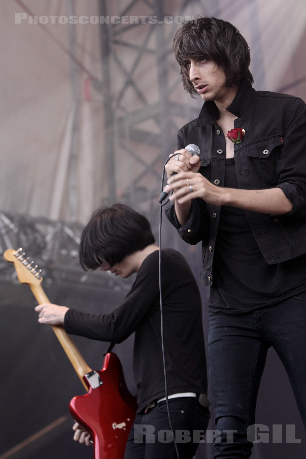 THE HORRORS - 2009-08-29 - SAINT CLOUD - Domaine National - Scene de la Cascade