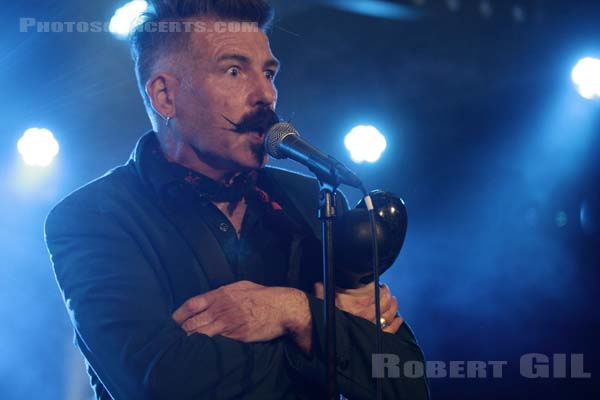 THE JERRY FISH ELECTRIC SIDESHOW - 2014-10-15 - PARIS - Le Backstage by the mill at O'Sullivans