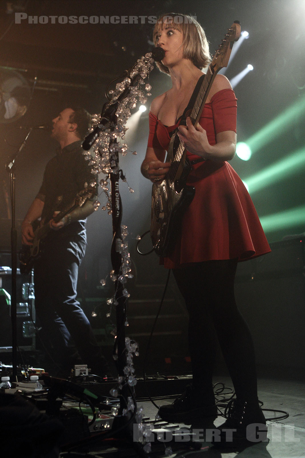 THE JOY FORMIDABLE - 2013-02-12 - PARIS - La Maroquinerie
