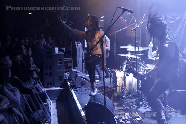 THE LAST BAND - 2016-12-05 - PARIS - Trabendo
