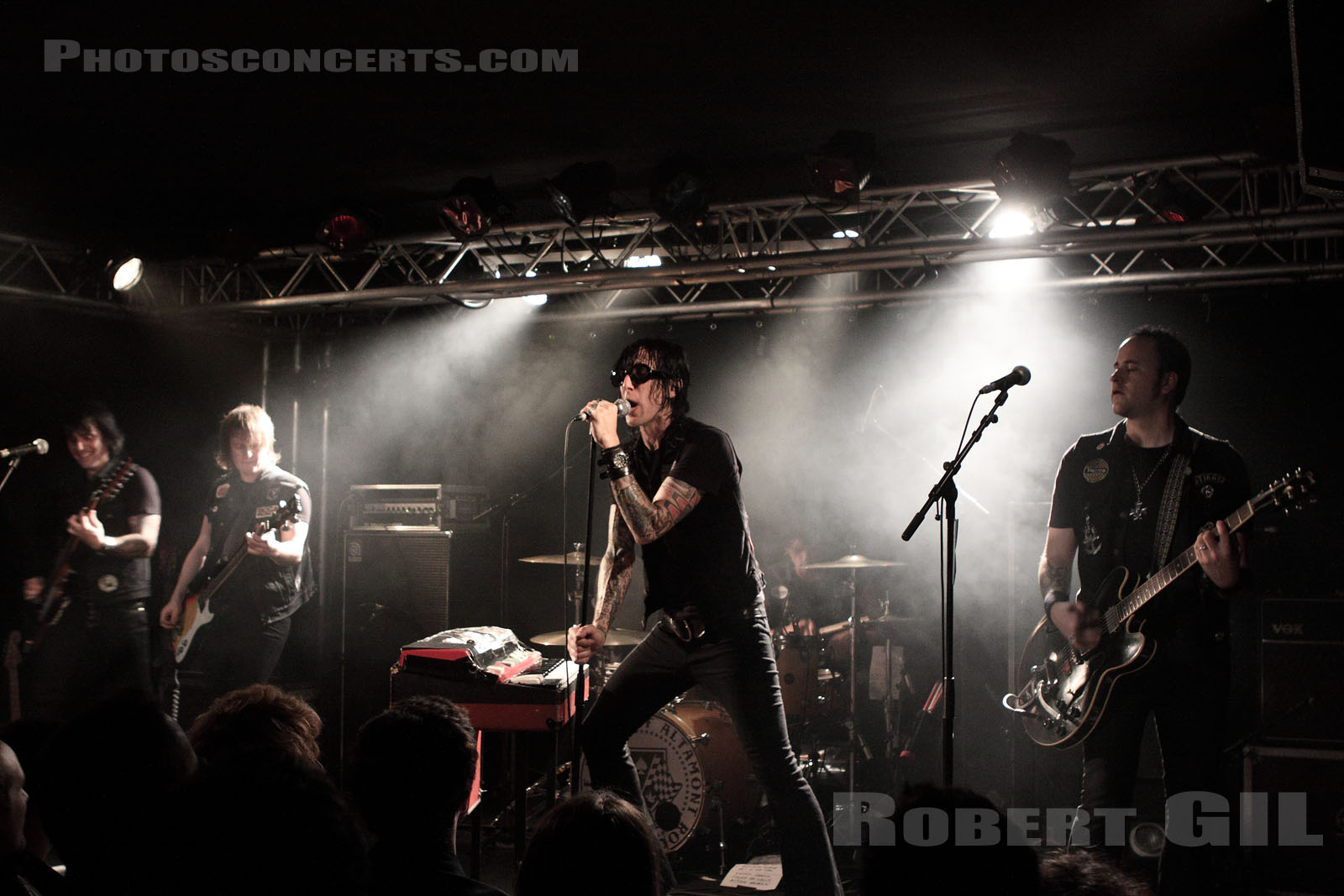 THE LORDS OF ALTAMONT - 2009-10-20 - PARIS - La Boule Noire