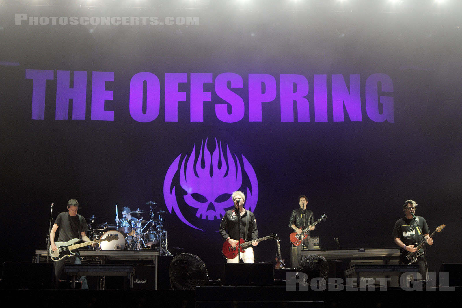 THE OFFSPRING - 2015-08-28 - SAINT CLOUD - Domaine National - Grande Scene