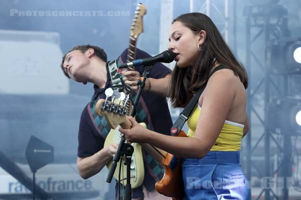 THE ORIELLES - 2018-08-24 - SAINT CLOUD - Domaine National - Scene Firestone