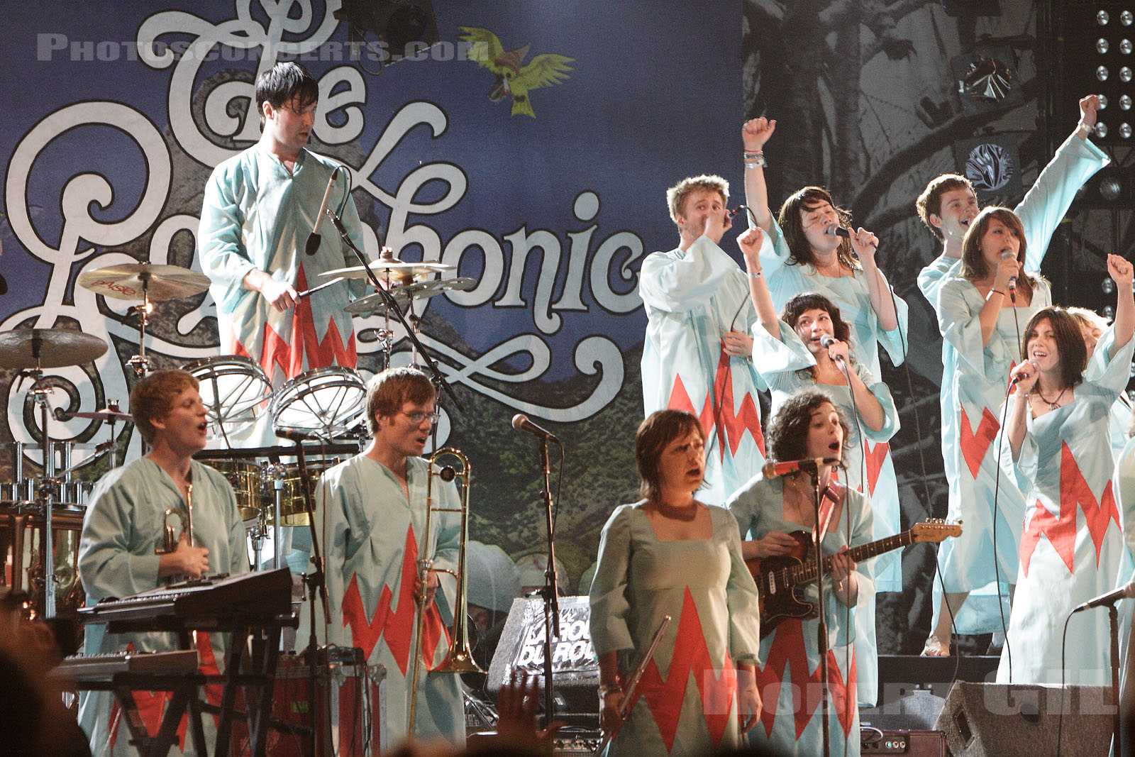 THE POLYPHONIC SPREE - 2005-08-14 - SAINT MALO - Fort de St Pere