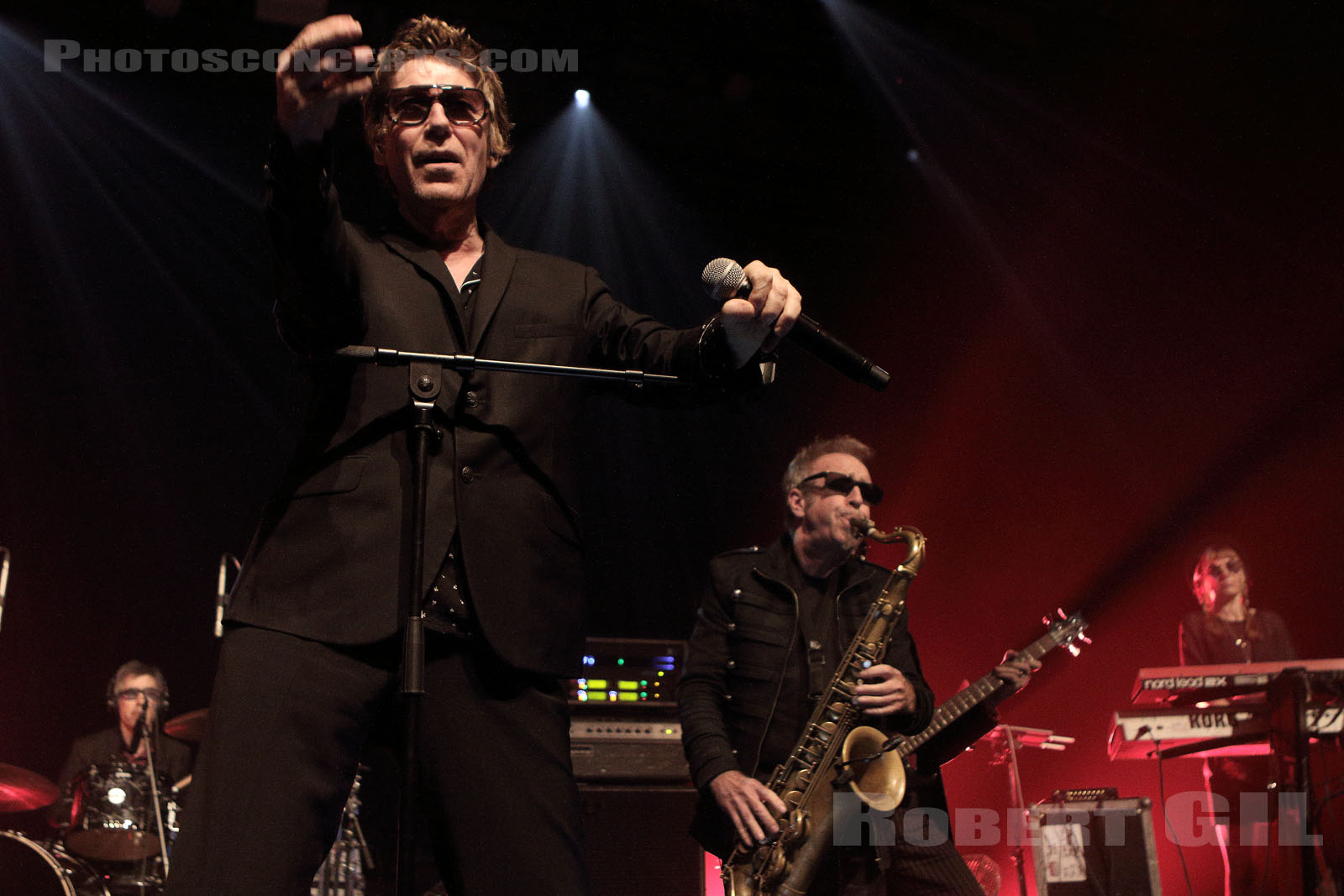 THE PSYCHEDELIC FURS - 2017-08-29 - PARIS - Elysee Montmartre