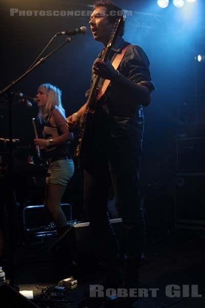 THE ROCKANDYS - 2012-10-02 - PARIS - Point Ephemere