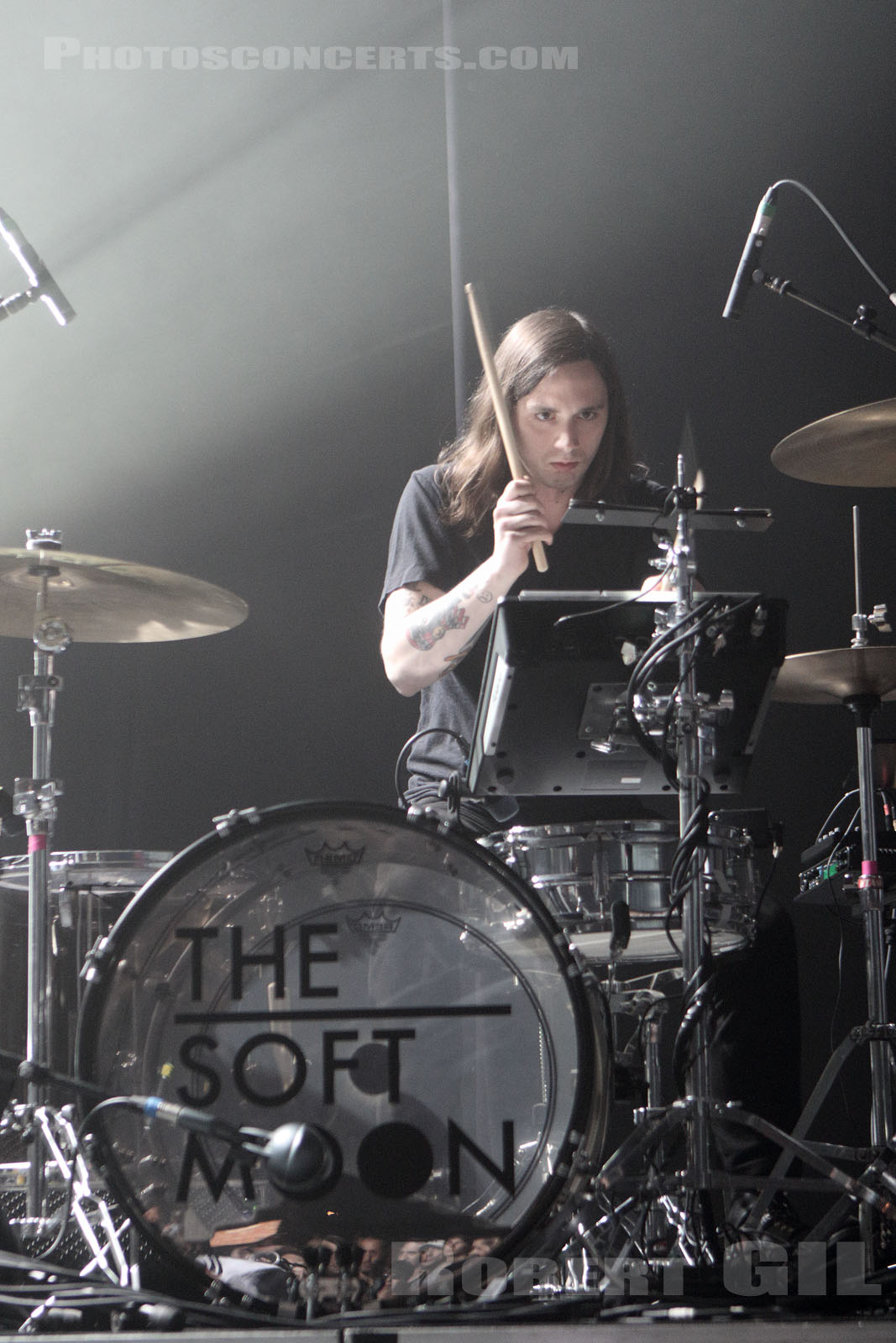 THE SOFT MOON - 2015-05-31 - NIMES - Paloma - Grande Salle