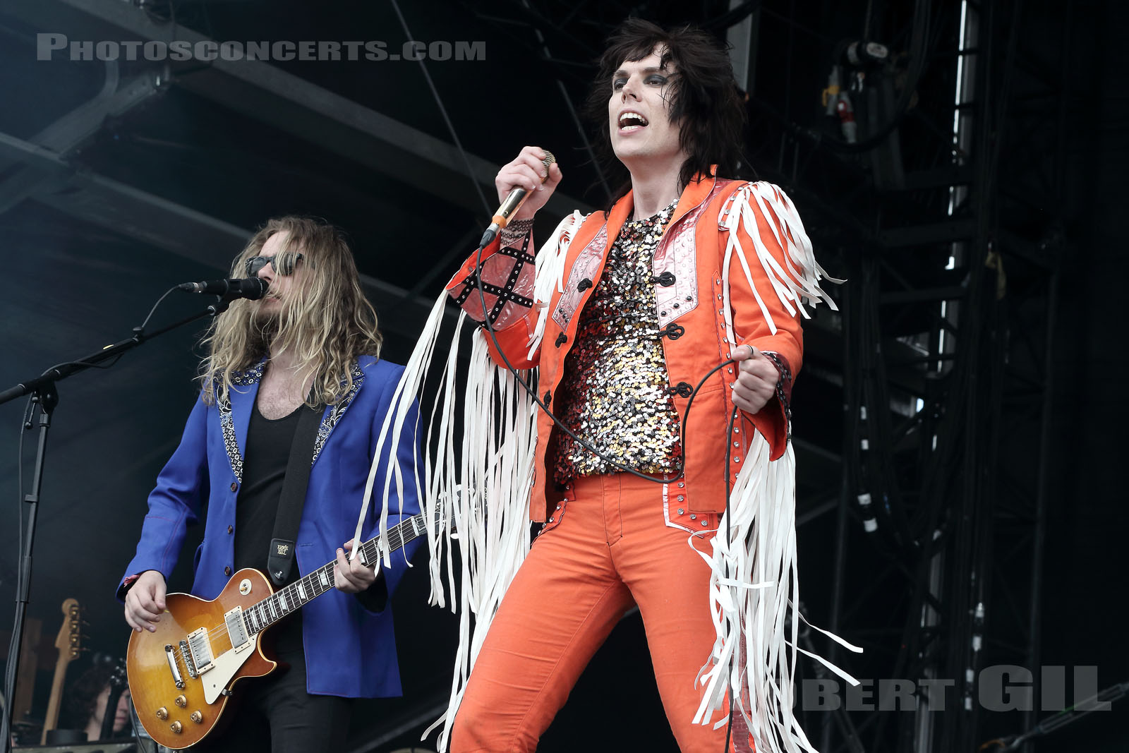 THE STRUTS - 2018-06-17 - BRETIGNY-SUR-ORGE - Base Aerienne 217 - Main Stage 2