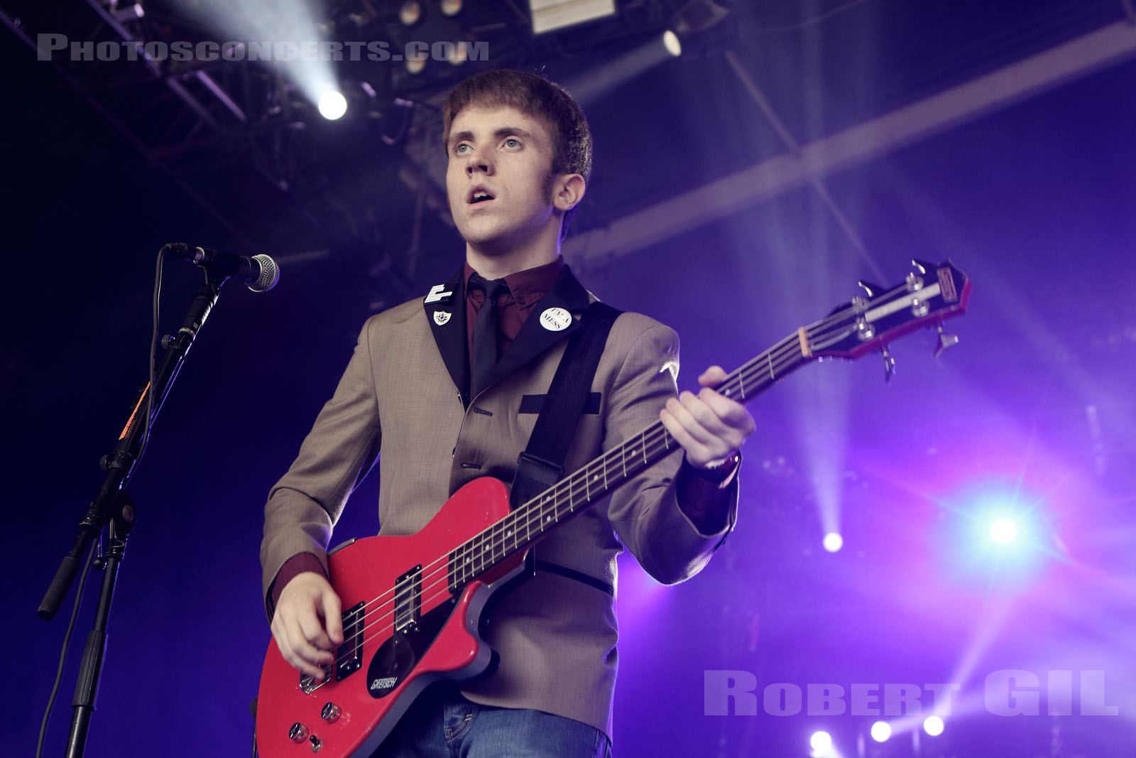 THE STRYPES - 2017-06-24 - PARIS - Hippodrome de Longchamp - Domino