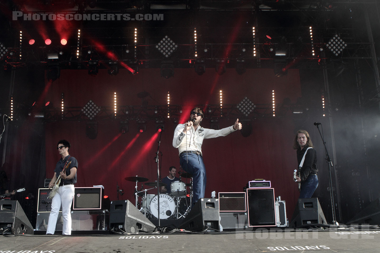 THE VACCINES - 2015-06-27 - PARIS - Hippodrome de Longchamp
