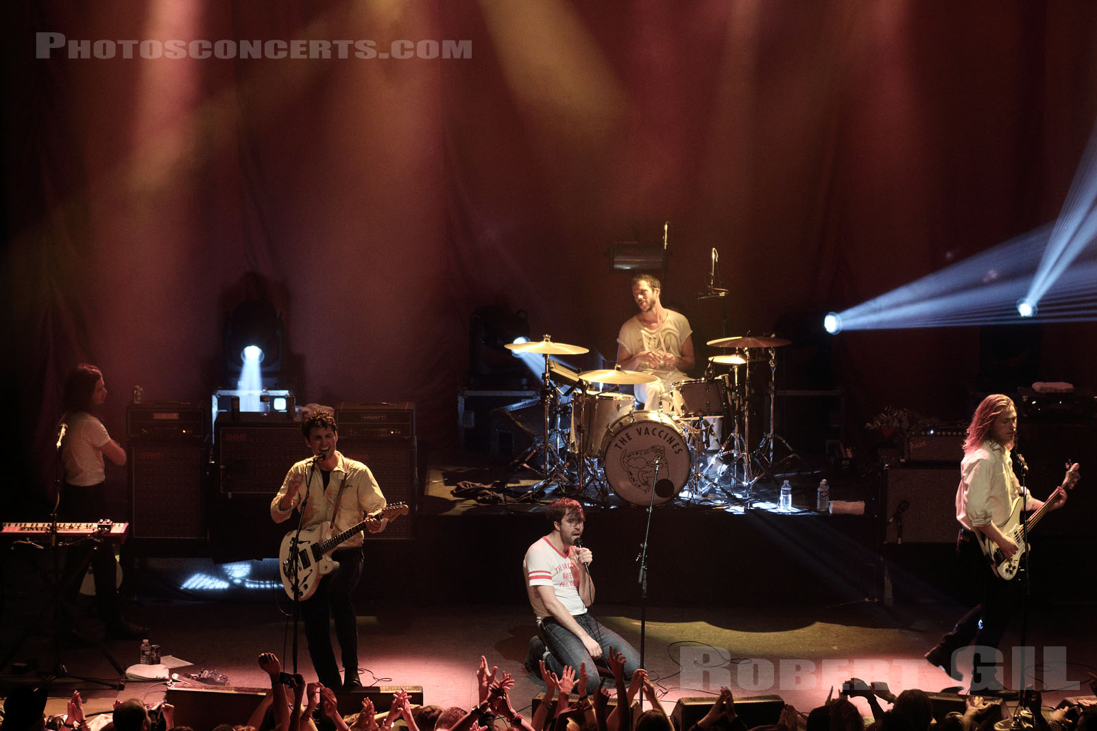 THE VACCINES - 2015-10-07 - PARIS - La Cigale