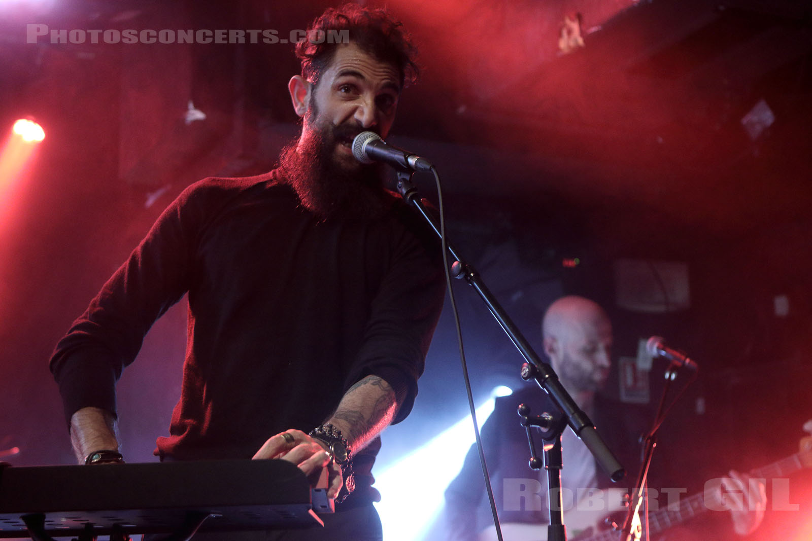 THE WANTON BISHOPS - 2015-10-15 - PARIS - Bus Palladium