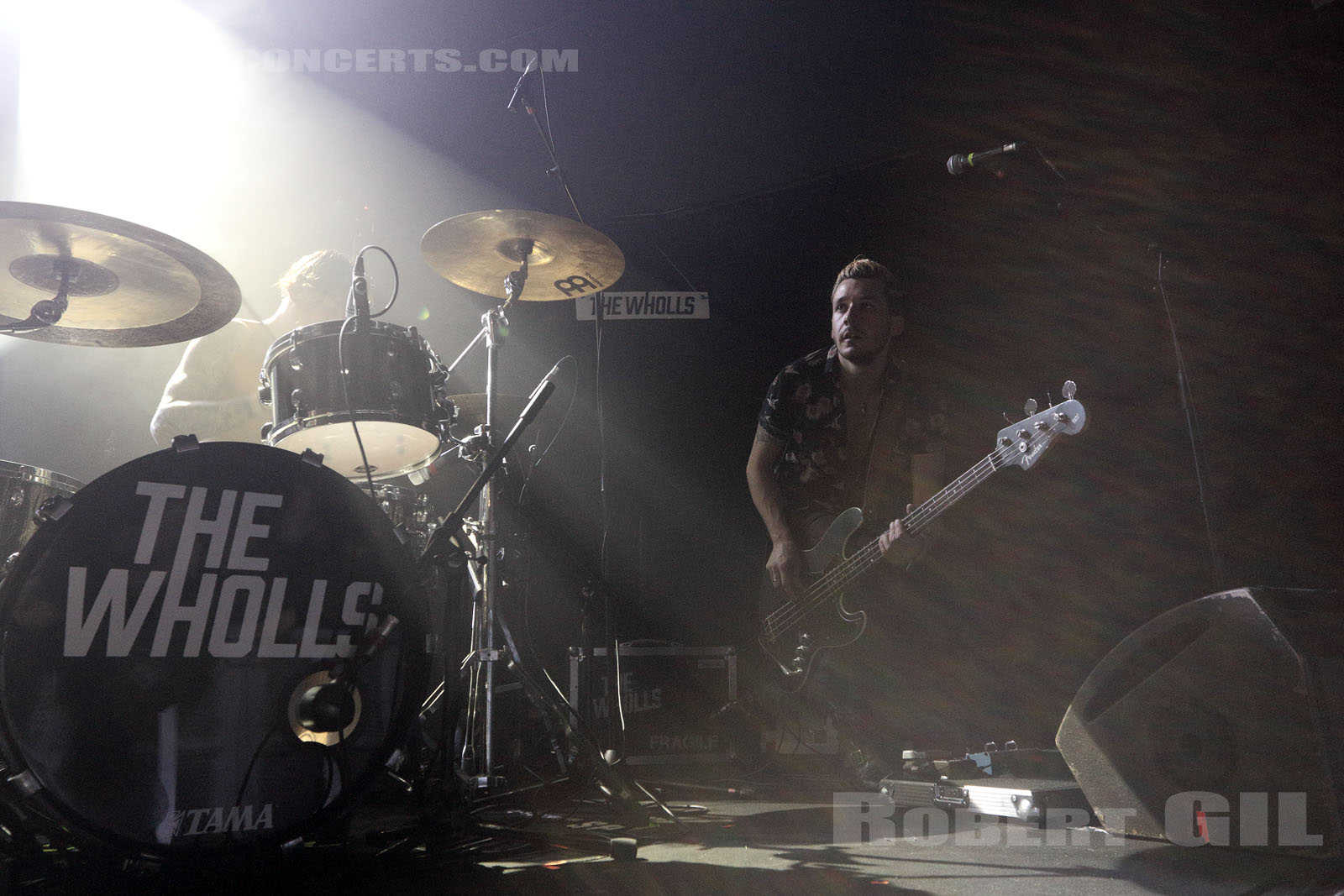THE WHOLLS - 2017-03-08 - PARIS - Trabendo