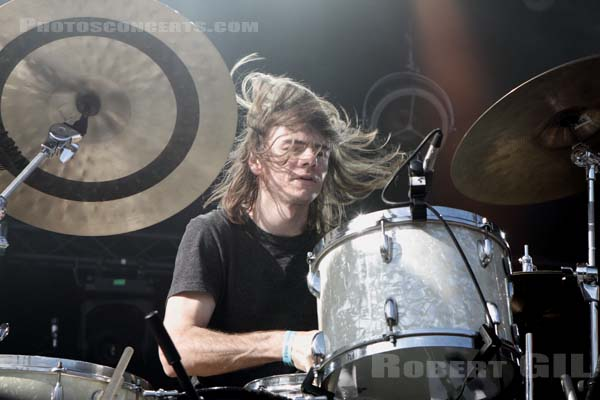 THEE OH SEES - 2014-08-23 - SAINT CLOUD - Domaine National - Scene de la Cascade