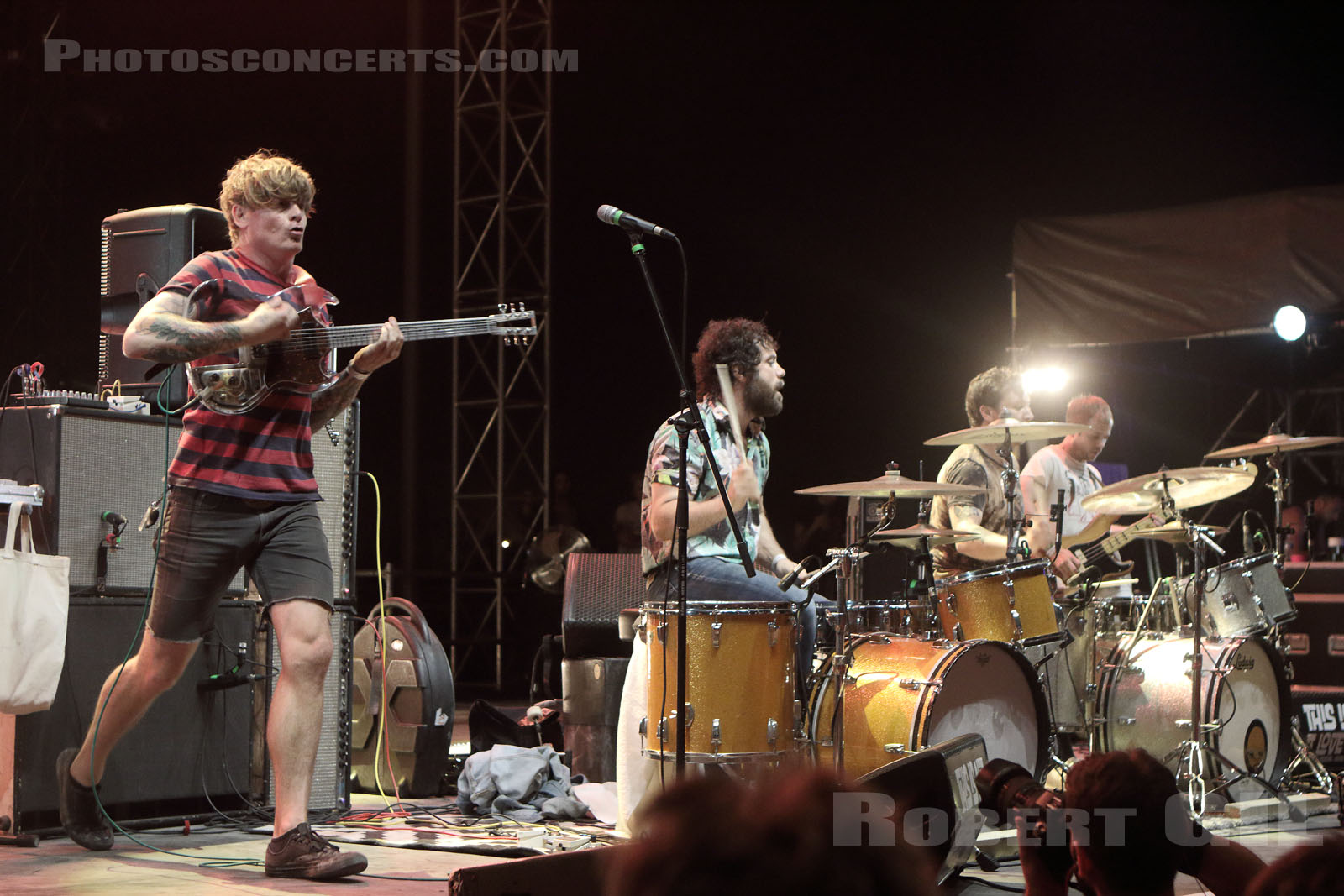 THEE OH SEES - 2017-06-10 - NIMES - Paloma - Flamingo