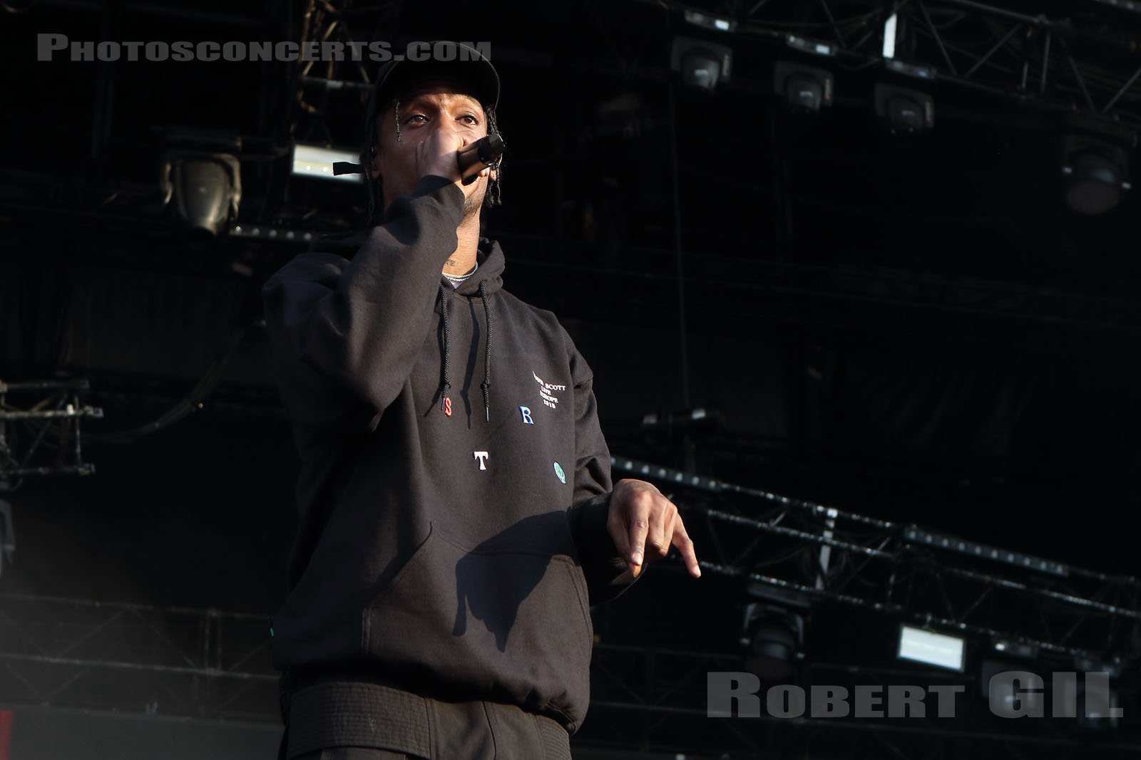 TRAVIS SCOTT - 2018-07-21 - PARIS - Hippodrome de Longchamp - Main Stage 2
