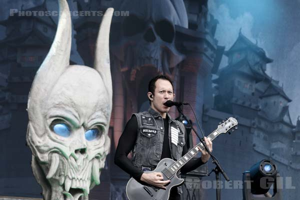TRIVIUM - 2016-06-12 - PARIS - Hippodrome de Longchamp - Main Stage