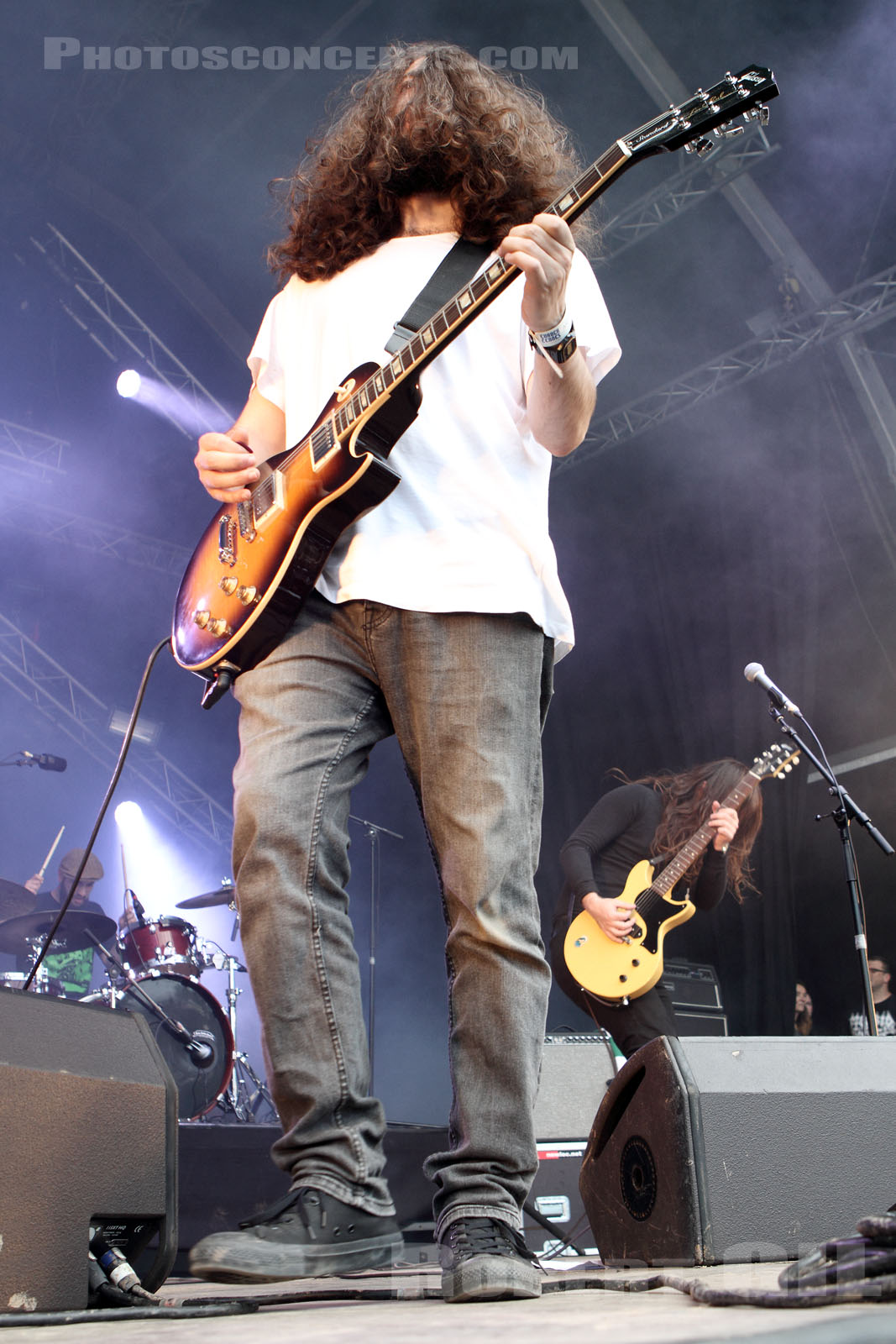 UNCLE ACID AND THE DEADBEATS - 2014-07-06 - BELFORT - Presqu'ile du Malsaucy