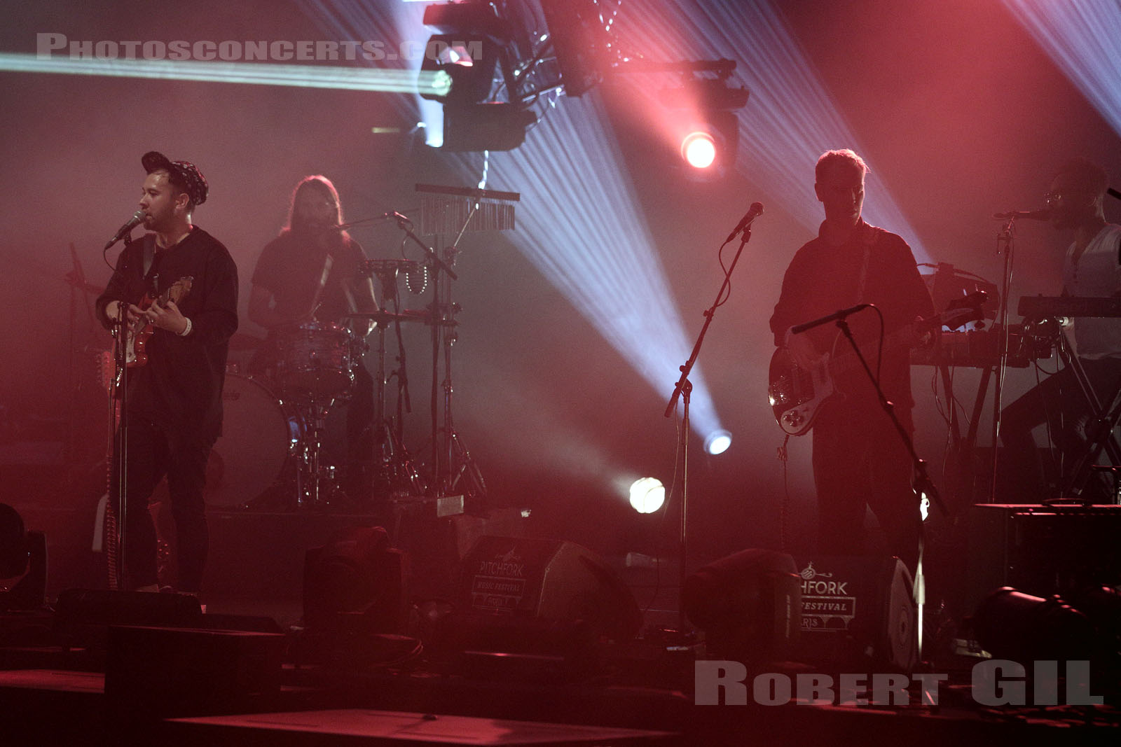 UNKNOWN MORTAL ORCHESTRA - 2015-10-31 - PARIS - Grande Halle de La Villette