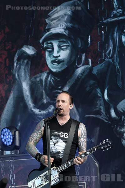 VOLBEAT - 2018-06-18 - BRETIGNY-SUR-ORGE - Base Aerienne 217 - Main Stage