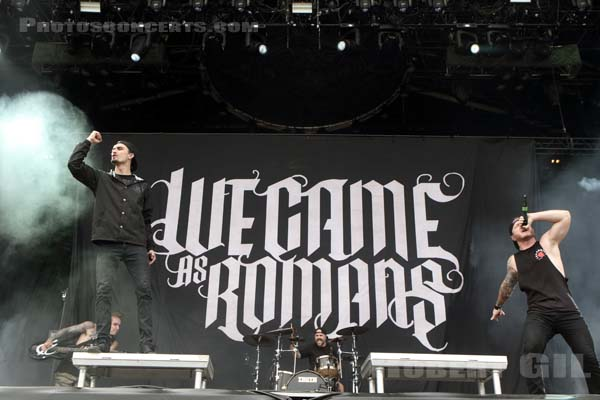 WE CAME AS ROMANS - 2016-06-10 - PARIS - Hippodrome de Longchamp - Main Stage