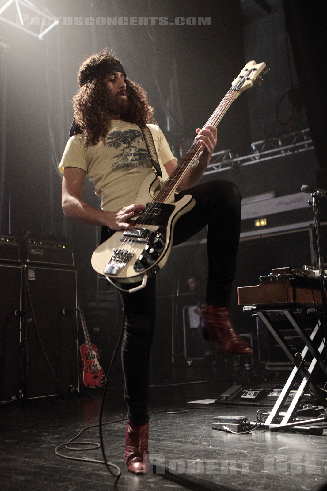 WOLFMOTHER - 2016-04-25 - PARIS - Le Trianon